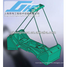 30t 12cbm four rope scissor type grab