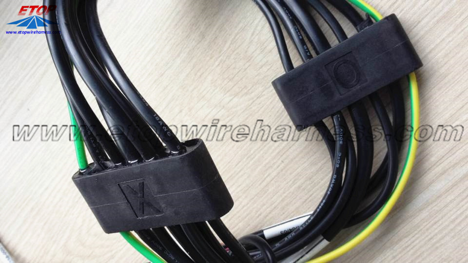 Conjunto de cables para el dispensador de combustible