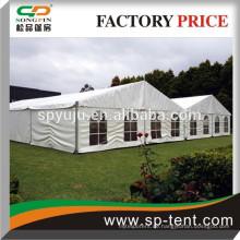 20x60m große Aluminiumrahmen Hochzeit Zelt Innenverkleidungen und Vorhänge