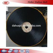 DHT-115 fire resistant rubber belt/roller conveyor system