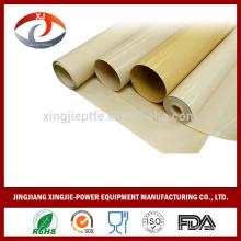 Importação china bens ptfe à prova de fogo revestido pano de fibra de vidro