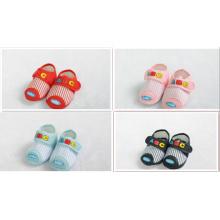 Zapatos de bebé seguros del algodón de los zapatos de bebé zapatos al por mayor del niño de los zapatos de bebé