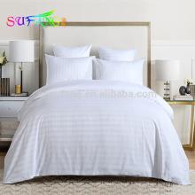 Cama king size de luxo 100% algodão 1 cm lençóis de tira