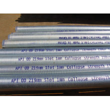 High Flow Rates Wedge Wire Water Well Screen