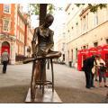 Outdoor Bronze Ballet Dancer Sculpture For Sale