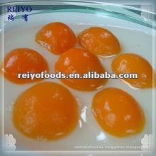 Frutas enlatadas - albaricoque