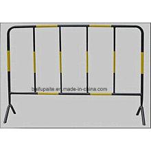 Barrière temporaire de barrière de trafic