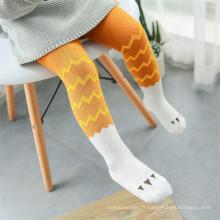 Pantalons / Pantyhose pour enfants colorés Design populaire Bonne qualité Compétition Prix Collants pour enfants