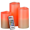 Intelligent remoted scents LED candle