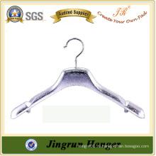Самый эффективный OEM / ODM Модный пластиковый серебряный вешалка для пальто