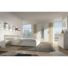 Conjunto de quarto de madeira moderno para móveis (HF-EY08317)