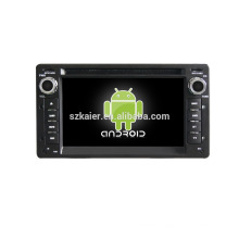 Quad core!car dvd with mirror link/DVR/TPMS/OBD2 for 6.2 inch touch screen quad core 4.4 Android system VICTORIA
