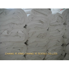 Factory high quality customized cotton white hotel fabric