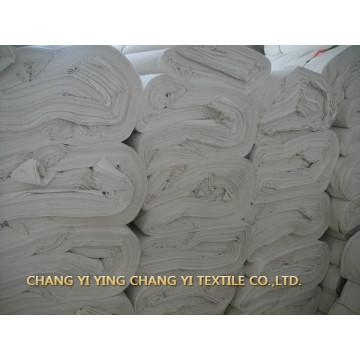 Alta qualidade de fábrica personalizada de tecido de algodão branco hotel