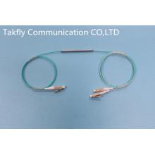 Coulper monomodo de fibra óptica con paquete de tubo de acero de 1 a 2