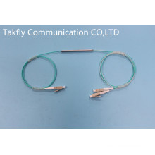 Coupleur à fibres optiques monomode 1 à 2 avec tube en acier