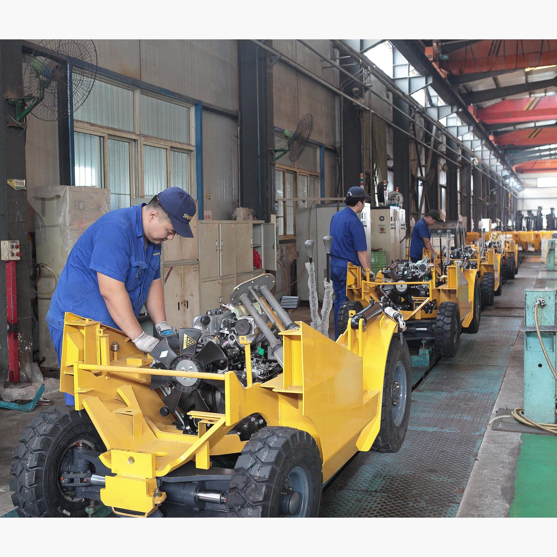 shantui forklift assembly line