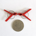 Clipe de plástico de cor vermelha de alta qualidade para enxertia agrícola