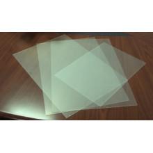 Folha de PVC rígida transparente