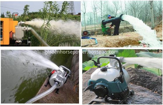 diesel water pump field