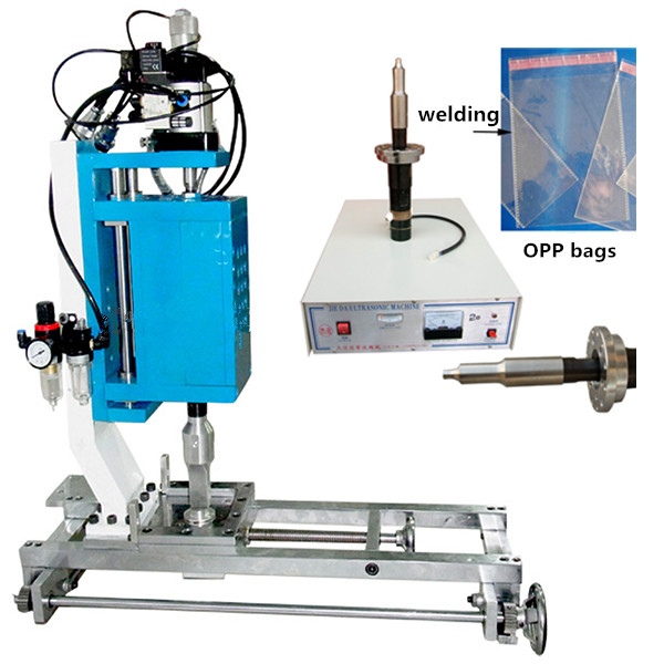Slider Ziplock Plastic Bags Welding Machine