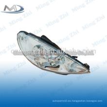 Cristal de luz de cabeza para Peugeot 206 R087276 L087275
