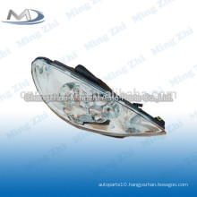 Head light crystal for Peugeot 206 R087276 L087275