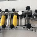 Máquina automática para fabricar mascarillas desechables Servo System