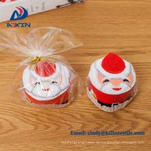 Weihnachts billiger Mikrofaser Geschenk Handtuch Kuchen
