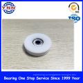 Белый пластик с покрытием глубокий шаровой Подшипник паза (БСУ 10X45X21mm)