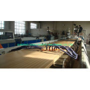 Recycled Plastic Wood Extrusion Line / Wpc Wood Plastic Composite Machinery