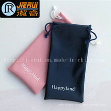 Factory Price Microfiber Pouch Folding Bag with for Cell Phone
