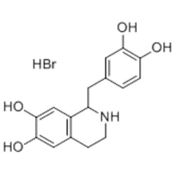 6,7-Isoquinolinediol,1-[(3,4-dihydroxyphenyl)methyl]-1,2,3,4-tetrahydro-, hydrobromide  CAS 16659-88-4