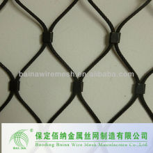 Hot sale High Quality Polyurethane Coated Wire Rope Mesh Supplier