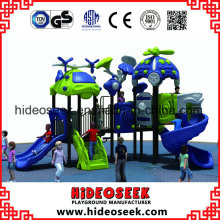 Middle Children Outdoor Plastic Slide Playground Equipment for Hottest Sale