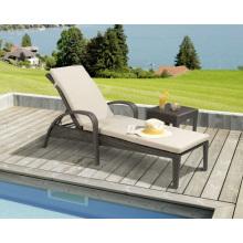 Garden Wicker Outdoor Rattan Patio Furniture Beach Sunlounger