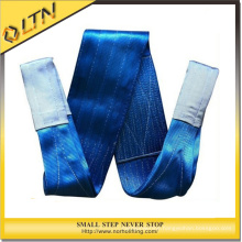 1 Ton Double Ply Polyester Flat Webbing Sling / Duplex Webbing Sling / Flat Sling