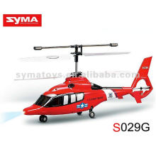 SYMA S029G Helicóptero RC Syma de 3 canales - SIMULADOR Dauphin Guard