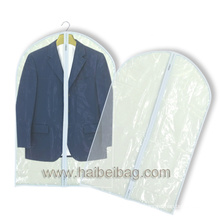Clear Showerproof PEVA Suit Cover