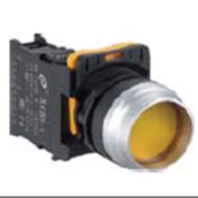 Interruptor pulsador plano bajo de 22 mm