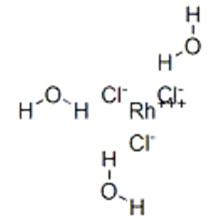 Rhodium chloride(RhCl3), hydrate (9CI) CAS 20765-98-4
