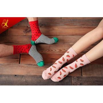 Couple unisexe Custom OEM chaussettes haute qualité