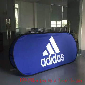 100x200cm Double Fabric Fabric Outdoor Banner Stand