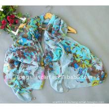 Мода полиэстер шарф