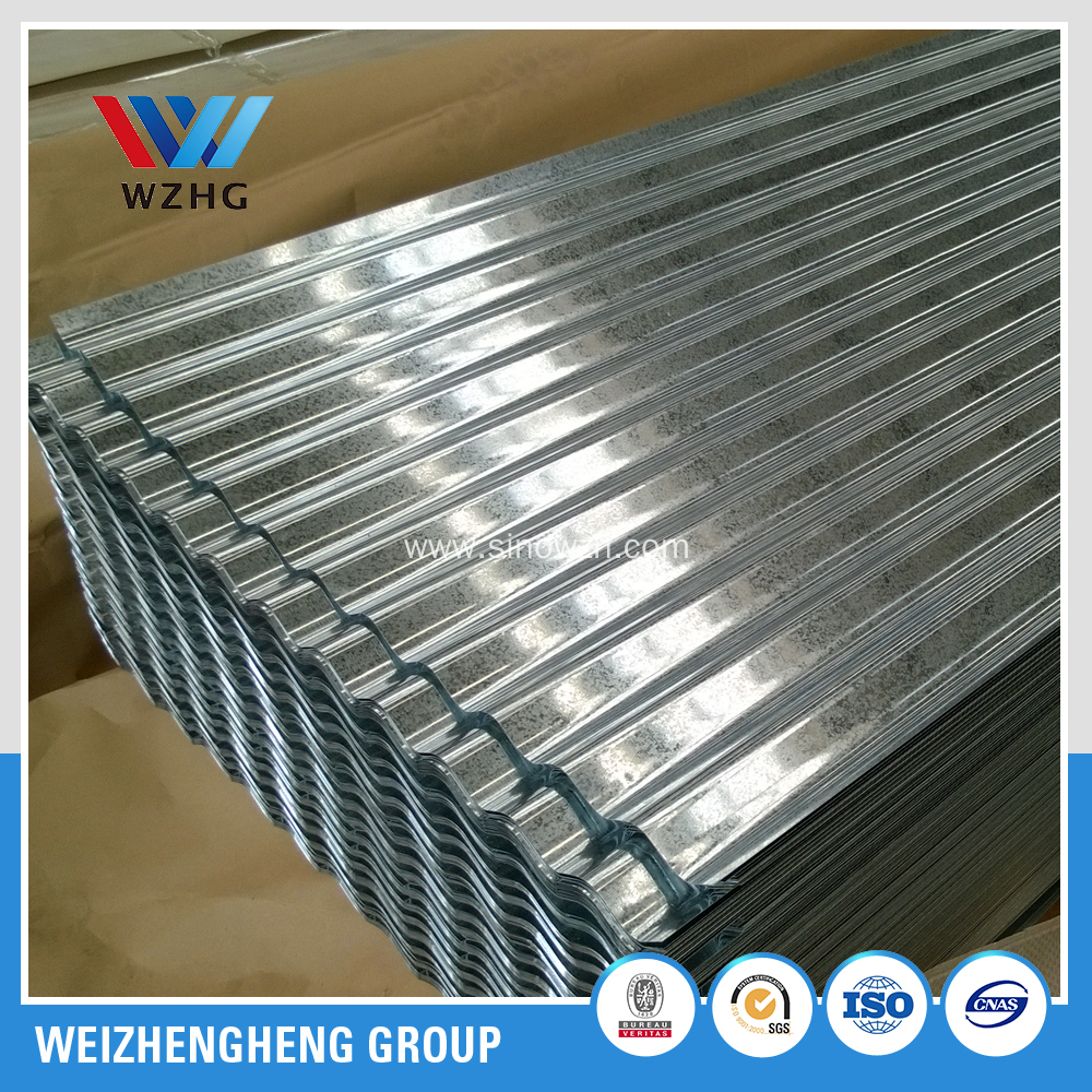 0.12mm to 0.60mm corrugated iron sheet