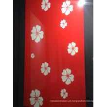 Placa acrílica colorida MDF 18 milímetros para o armário de cozinha (zhuv)