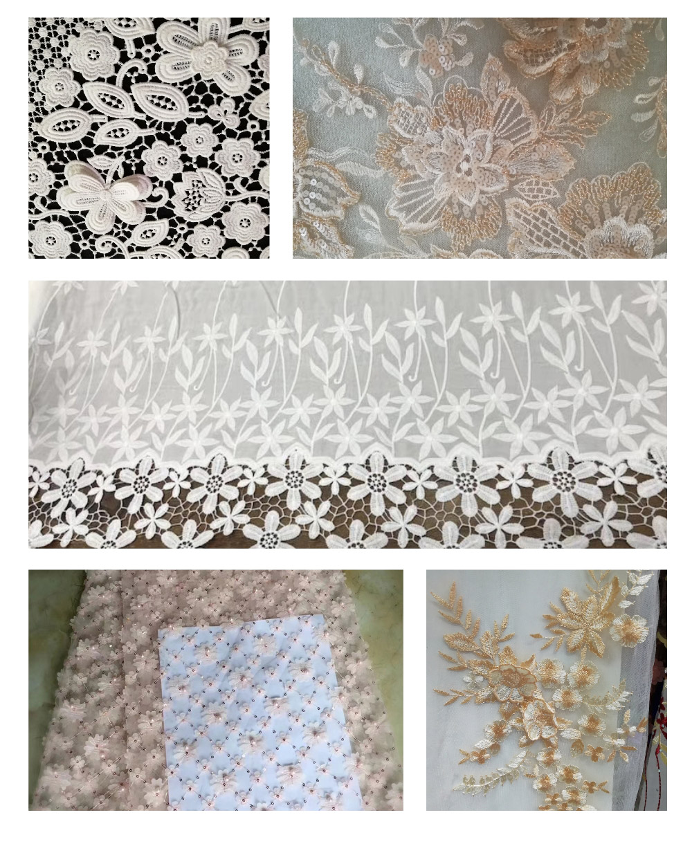 LACE TRIMMING FABRIC