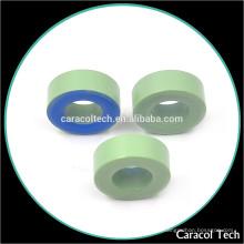Perda de núcleo pequeno CT106-52 Núcleo indutivo redondo macio de pó de ferro magnético