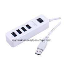 USB Hub Plug and Play Hot Swappable pour les pilotes Flash