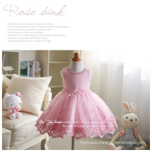 wholesale children's boutique embroidery designs frock for kids flower girls dresses